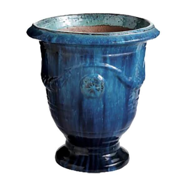 Anduze Ceramic Hand Glazed Planter (jade)