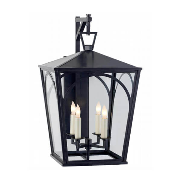 Darlana Arc Small Outdoor Wall Bracket Lantern