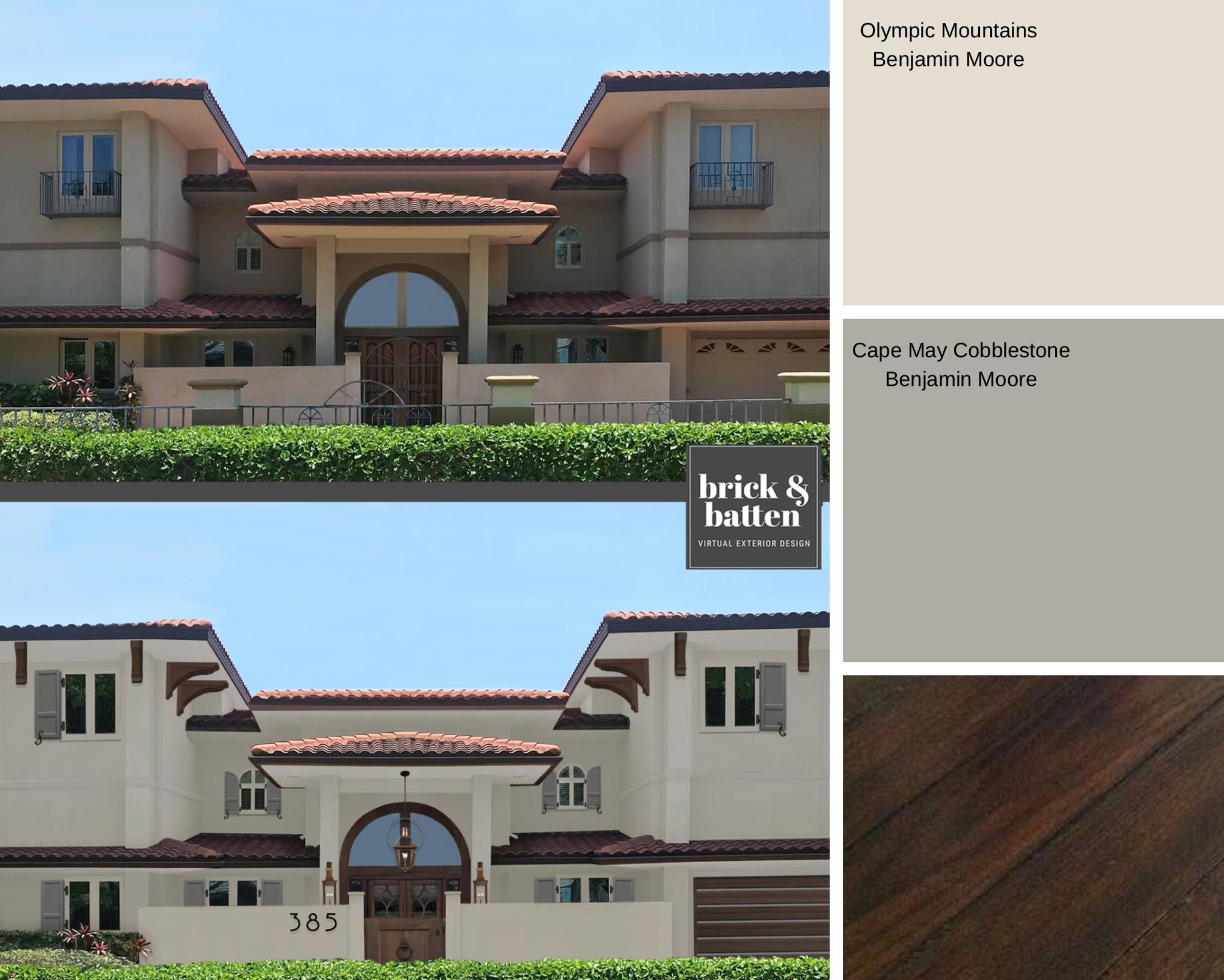 2019 Home Exterior Color Palettes To Love Blog Brick Batten