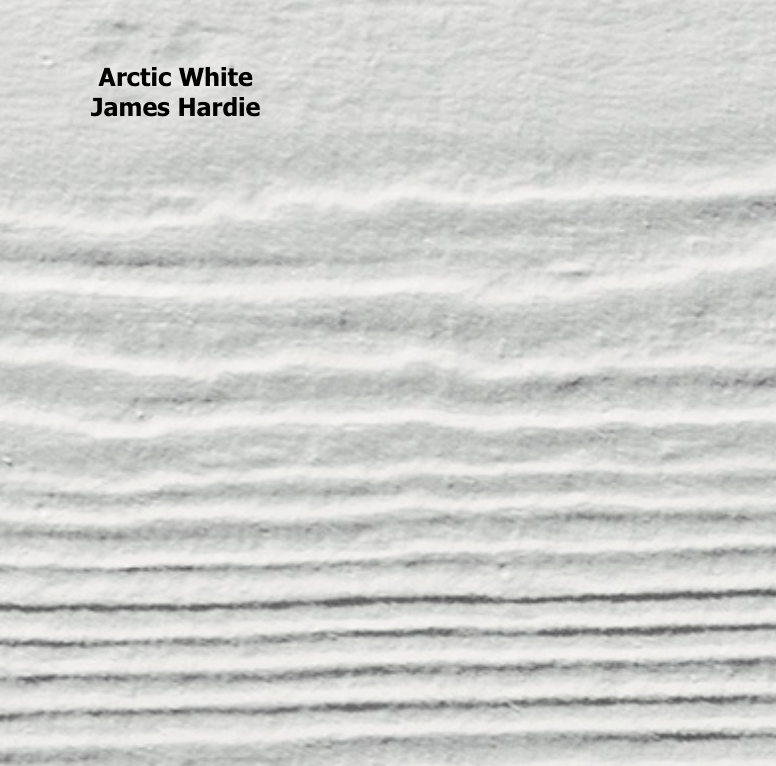 Arctic White James Hardie