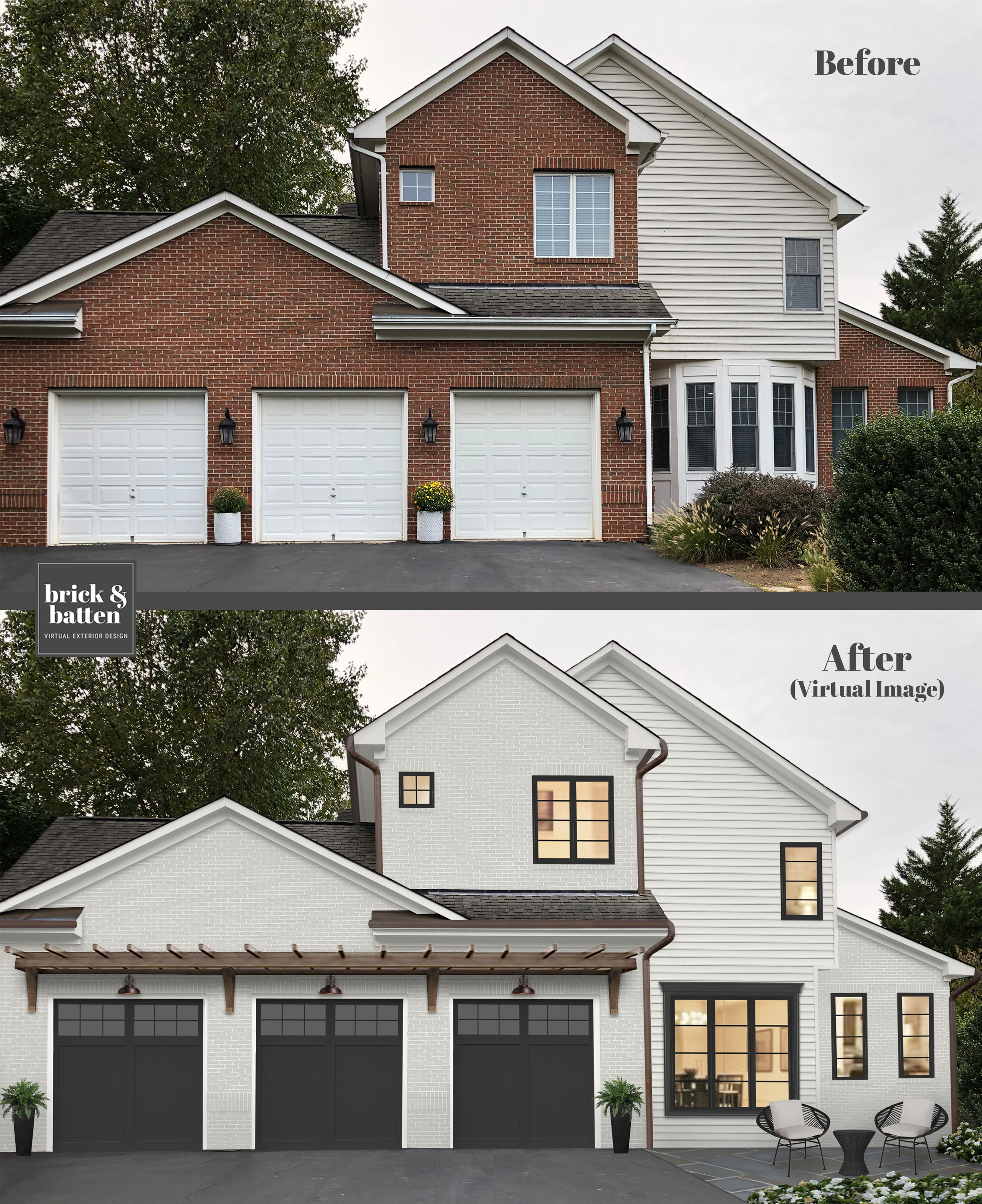 Image of: 16 Best Paint Colors For Your Home S Exterior In 2020 Blog Brick Batten